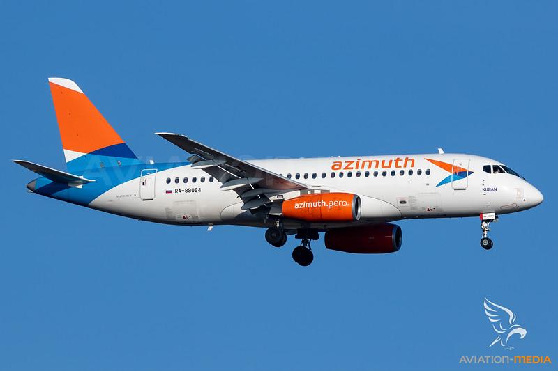 Azimuth Airlines / SSJ100 / RA-89094