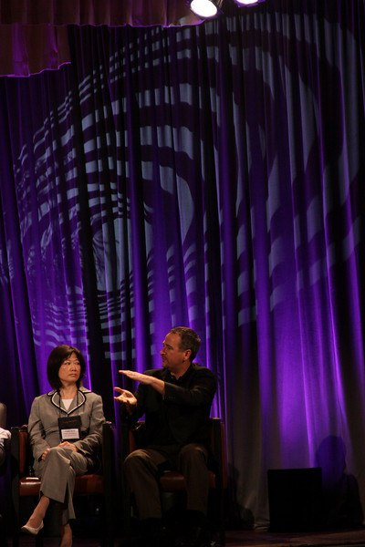 """""""HOTSPOTS II: Five Personal Views of the Future"""": Connie Wong, CEO, Vidiator; and Joe Burton, VP and CTO, Cisco Systems"""