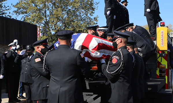 South Holland Fire Department LODD Funeral For Firefighter Paramedic Dylan Cunningham 0ct 7th 2020