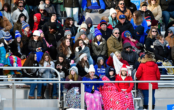 11/23/2018 Mike Orazzi   Staff Fans during the Battle for the Bell at Muzzy Field Friday. Central won 24-19.