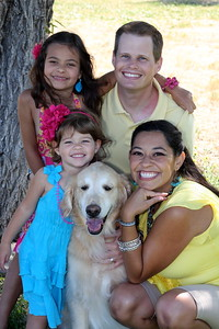 Keir, Alex and girls