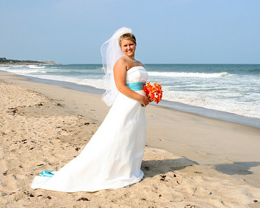 Lori Barrier's Bridal Portraits At The Beach