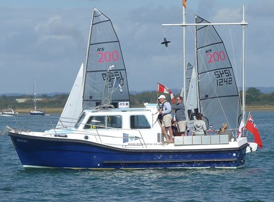 RS200 Youth Championships 5 - 6 September 2020. Images Mike Wigmore