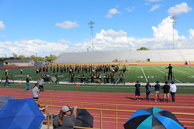Lytle Band at Harlandale Marching Festival 2018