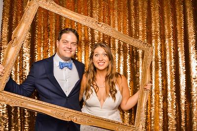 Katie & Chris Wedding Photo Station