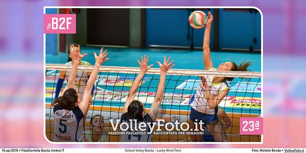 School Volley Bastia - Lucky Wind Trevi | 23ª #B2F