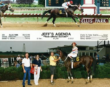 JEFF'S AGENDA - 8/13/1998