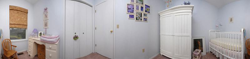 Camille's Nursery Panorama.