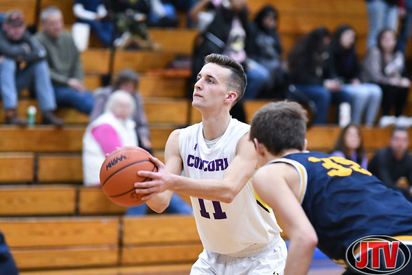 Columbia Central vs Concord Boys Basketball 12-16-19