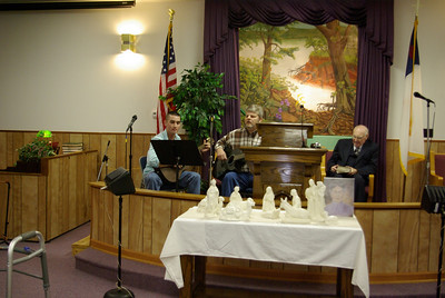 Jason is Baptized and Brandon and David sings God Bless you  all!