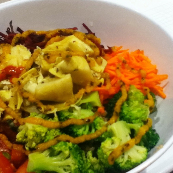 Seaaonal Grain Bowl @ urban herbivore @ urban eatery
