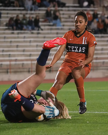 University of Texas Soccer vs. UTSA 2.16.2018