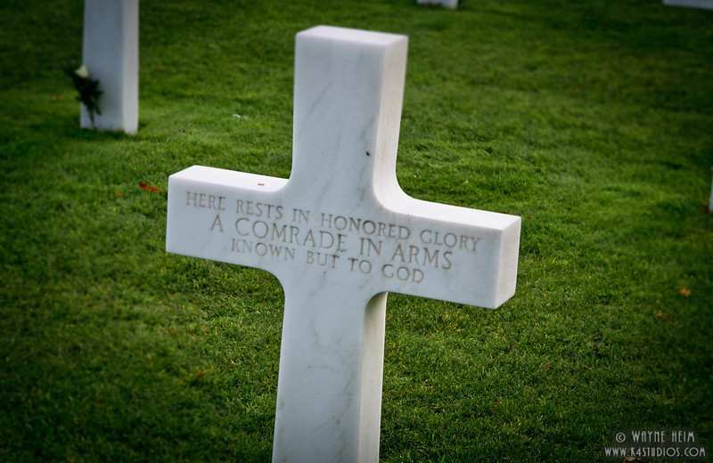 Unknown Soldier in France  Photography by Wayne Heim