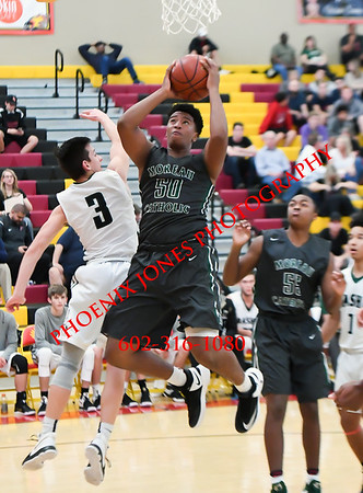 12-10-2016 - Basha v Moreau Catholic (CA) - Hoophall West Invitational - Basketball