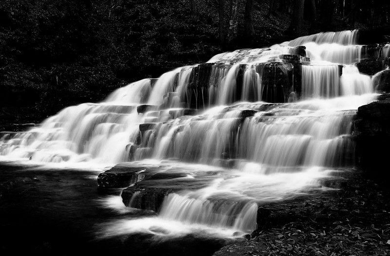 15- Beecher Creek, One of the Many Waterfalls at Adirondack Park.