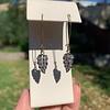 1.50ctw (est) Victorian Leaf Component Earrings 18