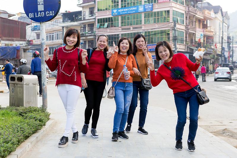 Sourires Vietnamiens
