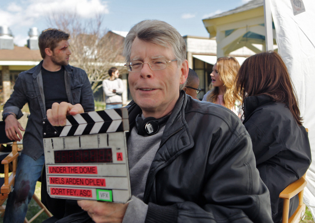 . UNDER THE DOME - On the set of CBS\'s new summer series, UNDER THE DOME, which premieres Monday, June 24 (10:00-11:00 PM, ET/PT). UNDER THE DOME is based on Stephen King\'s bestselling novel about a small town that is suddenly and inexplicably sealed off from the rest of the world by a massive transparent dome. Photo:Michael Tackett/CBS-©2013 Broadcasting Inc. All Rights Reserved