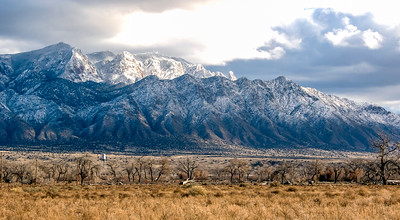 The Sandia Mountains