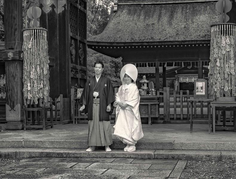 Wedding in Kyoto.