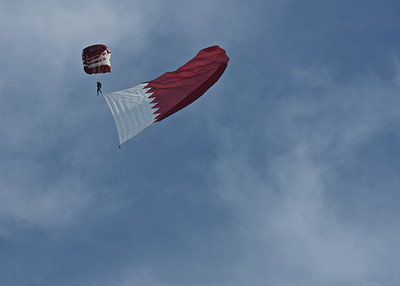 Qatar Military Parachute Team