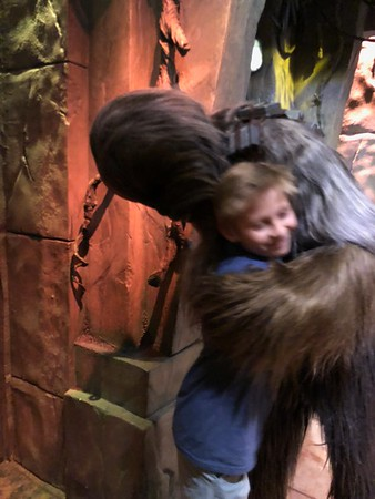 Jack Meets Chewbacca