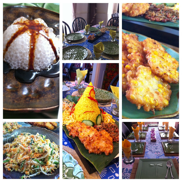 Indonesia Cooking Class, May 23, 2013