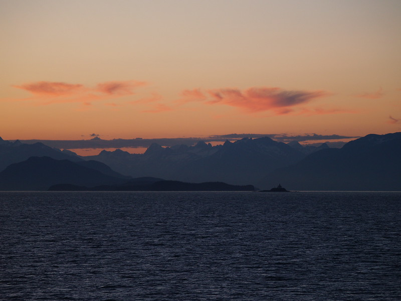 Sunset in Lynn Canal (2006)
