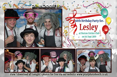 1st Sept 2019: Lesley's 60th Birthday Party