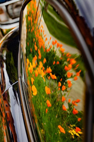 Car Reflection, Campbell, California, 2010