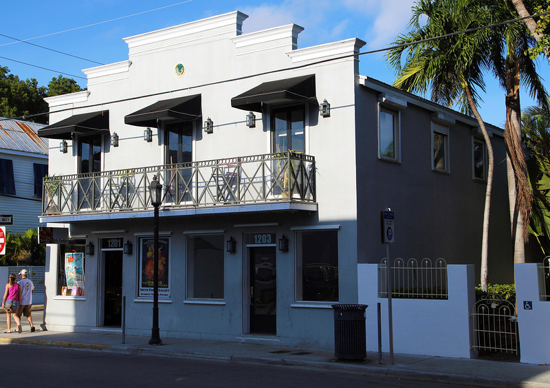 .. typical Key West commercial building