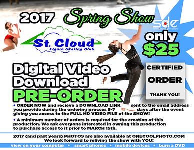 VIDEO PRE-ORDER 2017 Spring Show