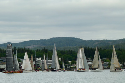 DAY 161 - June 10, 2011 - Van Isle 360 Degree Yacht Race Cynthia Meyer, Port Hardy, Vancouver Island, British Columbia, Canada