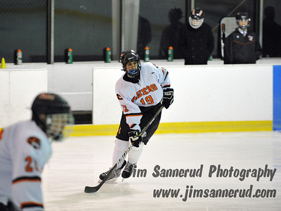 White Plains High School Tigers vs. Pelham Pelicans Varsity Ice Hockey at Ebersole Ice Rink
