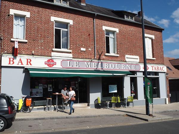 Bar Le Melbourne in Villers-Bretonneux