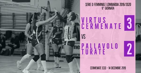 LOM-Df: 9^ Virtus Cermenate - Pallavolo Turate