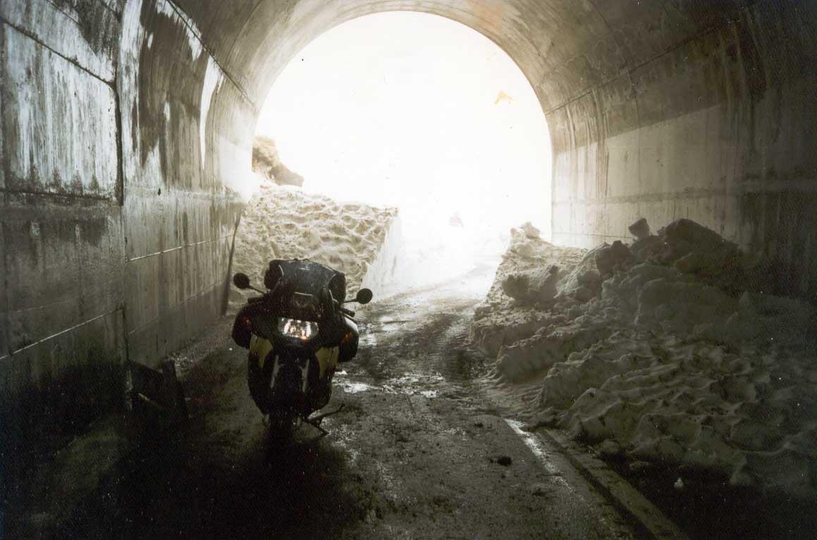 '97 Een wondermooie uitstap over de Gaviapas in Noord-Italie