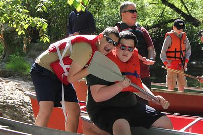 Canoeing May 31, 2014 - Ellison Park