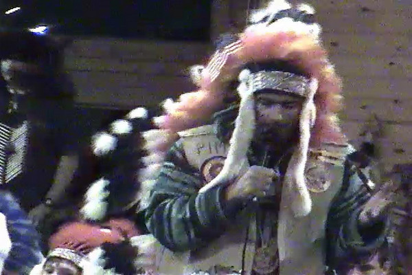 "Eagle of the North tells of his adventures visiting the Lakota Sioux.  This is the famous ""House Blessing/IRS story from Winter Camp January 2009. Part 1 of 2."