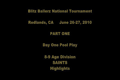 Blitz Ballerz Football National Tournament June 2010 VIDEOS