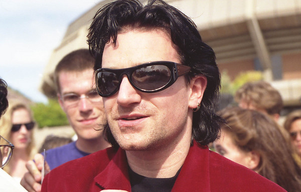 1992-04-10 U2 outside ASU Activity Center