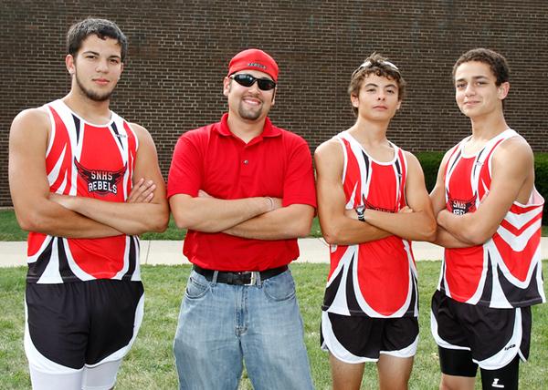 SN Cross Country Team 2010