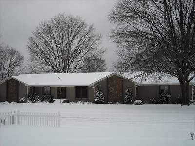 2011 Snow January 10th- Huntsville