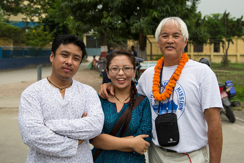 Sachin Shris, general surgeon.  Usha Rai, anesthesiologist, Brad Wong