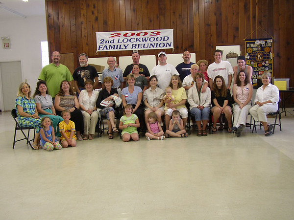Lockwood Family Reunion 2003