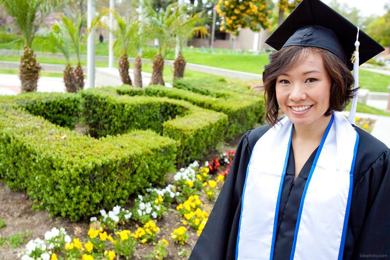 Stephanie's Graduation Portraits