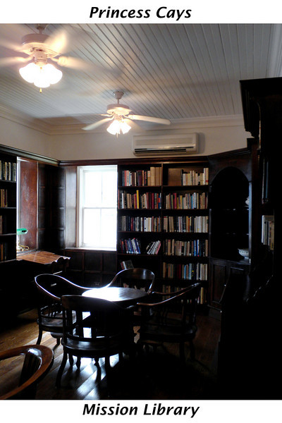 Library at the Mission