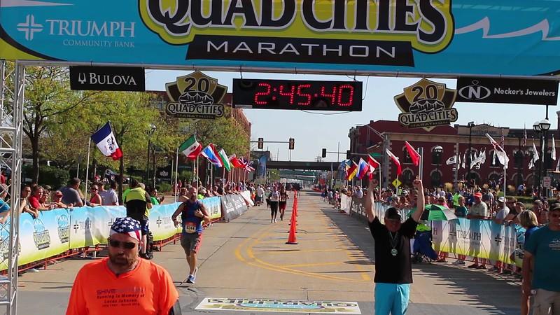 Quad Cities Marathon Women's Winner