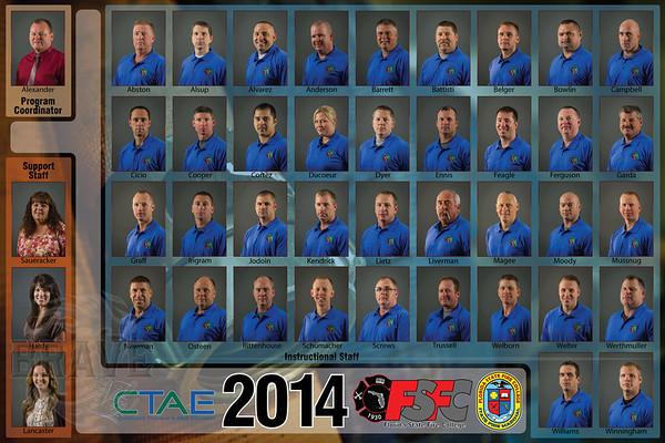 2014 CTAE-FSFC Instructor Photos