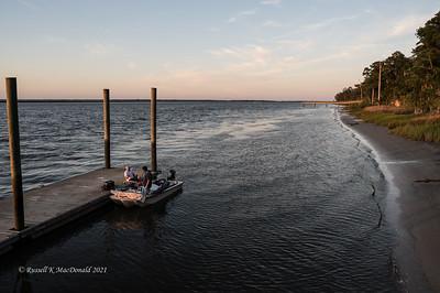 2021-05-31 Fort McAllister Fishing Pier Golden Hour